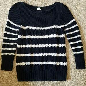 Sz. S J. Crew Striped Sweater